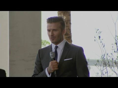David Beckham buys MLS franchise in Miami
