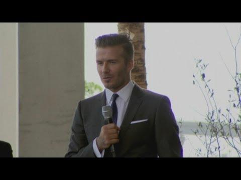 David Beckham buys MLS franchise in Miami