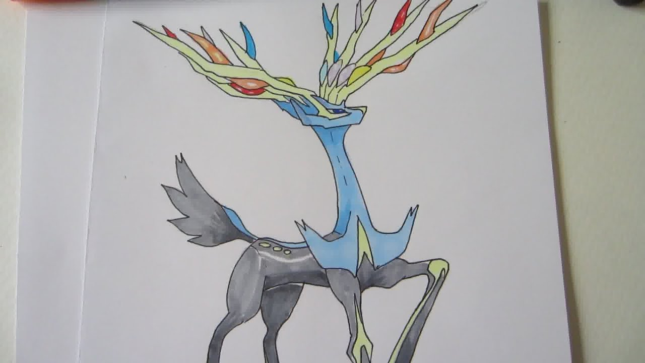 Xerneas [Tutorial] How to draw...