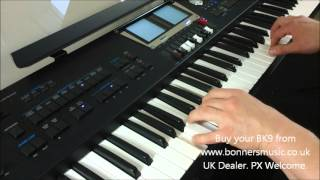 Roland BK9 Demonstration - Swing Combo Style