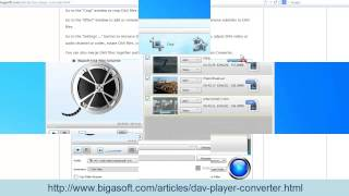 DAV Converter How To Convert DAV To AVI, MP4, MPEG, WMV