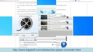 DAV Converter How To Convert DAV To AVI, MP4, MPEG, WMV