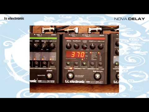 TC Electronic ND-1 Nova Delay Effects Pedal
