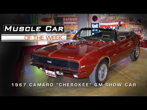 Muscle Car Of The Week Video #25: 1967 Camaro