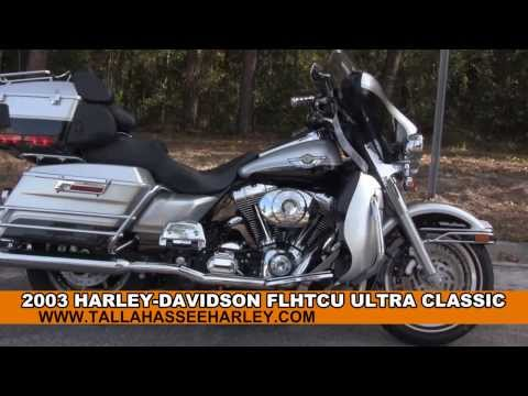 Used 2003 Harley Davidson Ultra Classic Electra Glide Motorcycle for