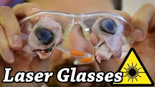 Safety Glasses vs CO2 Laser Glasses