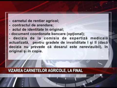 VIZAREA CARNETELOR AGRICOLE, LA FINAL