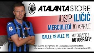 Atalanta Store: special guest Josip Ilicic