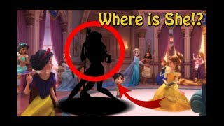 The One Disney Princess MISSING From Wreck-It Ralph 2