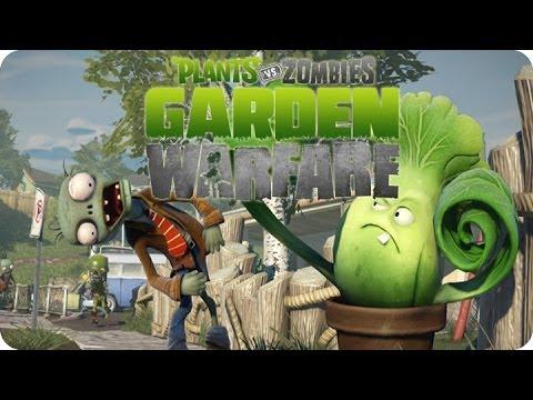 ¡Vamos a Jardines y Cementerios! xD | Plantas Vs Zombies Garden Warfare