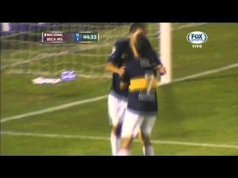 Nacional 0 - 1 Boca - Copa Libertadores 2013 - Fase de grupos