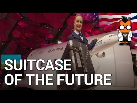 Suitcase of the Future Demo by Deutsche Telekom