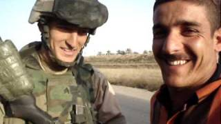 Soldier Imitates Will Ferrell as Harry Caray