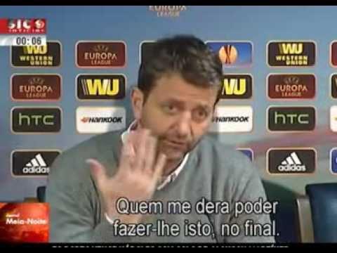 Sherwood (Treinador do Tottenham) também gostava de mostrar os dedos a Jorge Jesus