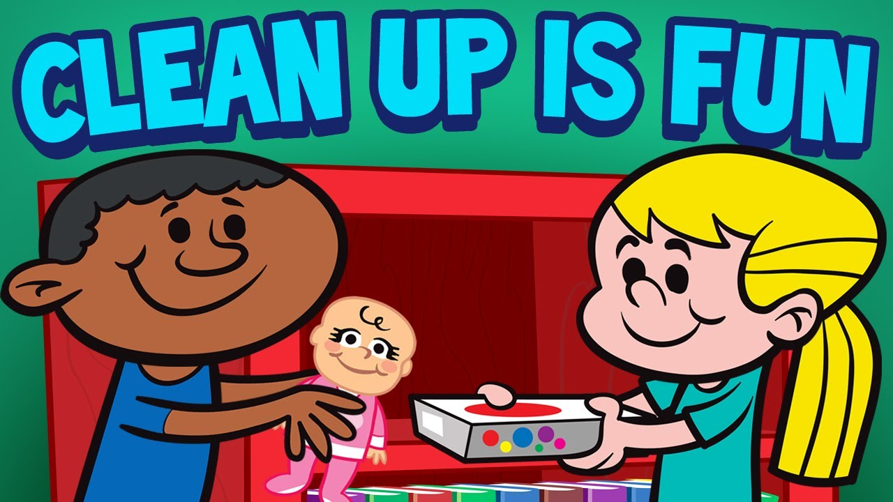 Clean up is fun children 39 s cleaning song kids songs by for Music to clean to