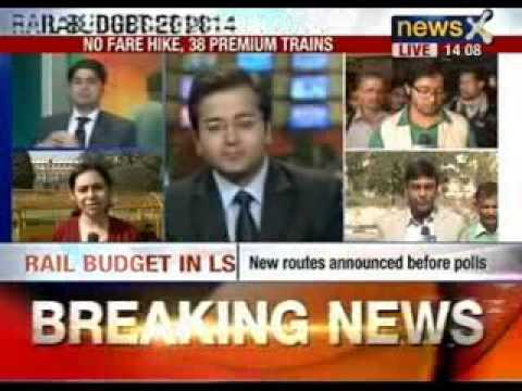 Rail budget 2014: No passenger fare hike, 17 new premium trains