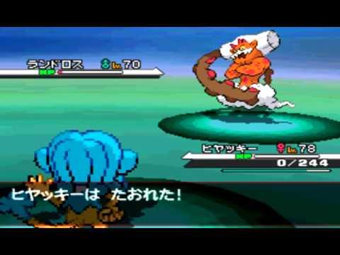 Pokemon Black&White Catching #645 Randorosu