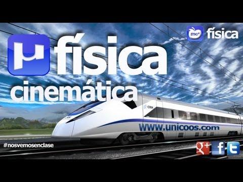 FISICA MRU 02 4ºESO unicoos Movimiento Rectilineo Uniforme