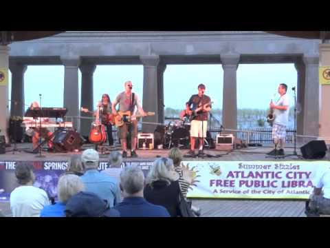 A.C. Library International Night Series - BStreet Band plays Springsteen's Thunder Road July 2, 2014