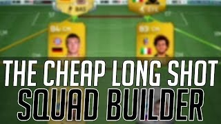 THE BEST AFFORDABLE LONG SHOT SQUAD (CHEAP) FIFA 14