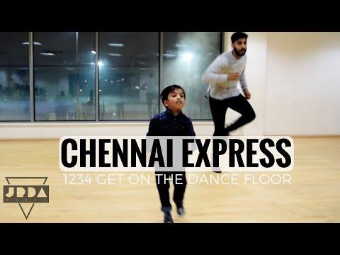 1234 Get On The Dance Floor | Chennai Express | DANCE | Shahrukh Khan | Priyamani | @JeyaRaveendran