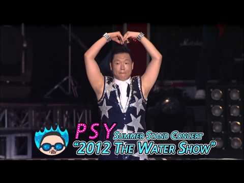 """PSY - Summer Stand Concert  """"2012 The Water Show"""" Spot"""