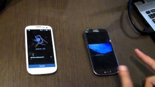 Samsung Galaxy S3 NFC Funcionamiento