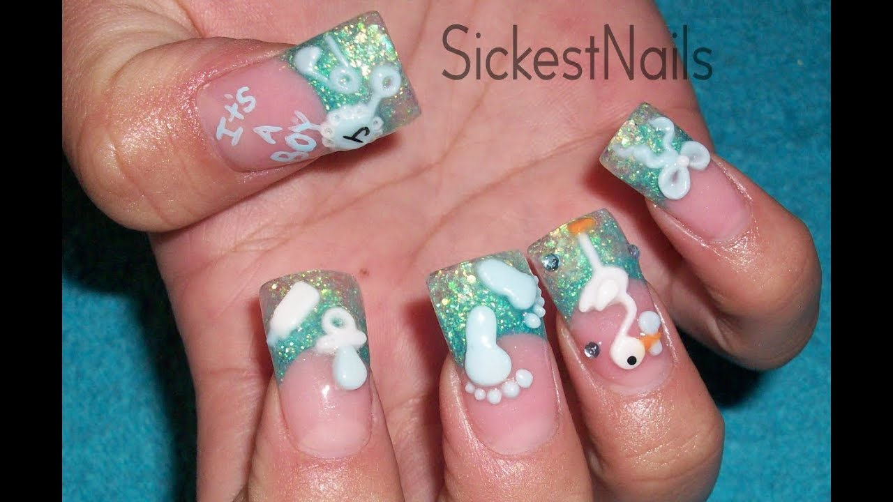 Acrylic Nail Design-It
