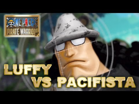 One Piece: Pirate Warriors - PS3 - Luffy vs Bartholomew Kuma