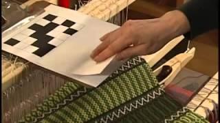 Ткачество на ткацком станке Julia от Glimakra Часть 4
