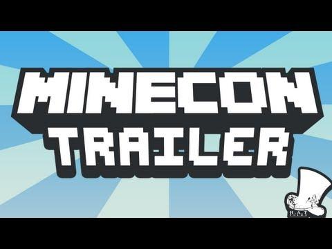 Официальный трейлер Minecon и официальный плакат Minecraft