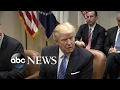Trump Sits Down With Business Leaders Vows to Cut Regulations
