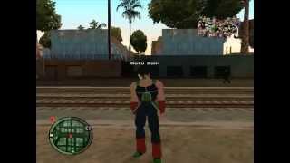 Dragon Ball Z Gta San Andreas Nuevos Poderes Bardock