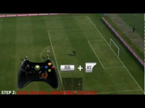PES 2012 Rabona Tutorial - Skills Tutorial 1