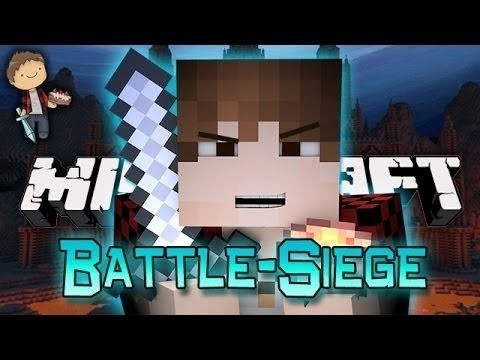 WORST EVER! Minecraft: Battle-Siege w/Mitch and Friends!