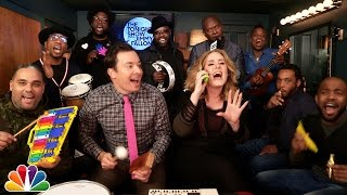 "Jimmy Fallon, Adele & The Roots Sing ""Hello"""