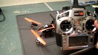 Blade 180QX Overview With Flight (Pirouettes, Flips, And