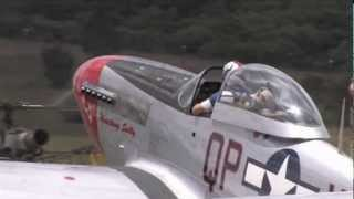 "P-51D Mustang Engine Sounds ""No Music"" Merlin Engine"