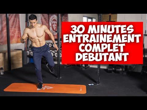 30min entrainement complet débutant !  (sans matériel)