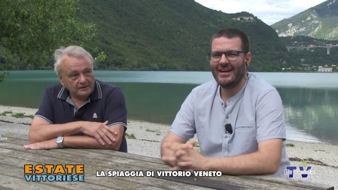 Estate vittoriese - La spiaggia di Vittorio Veneto