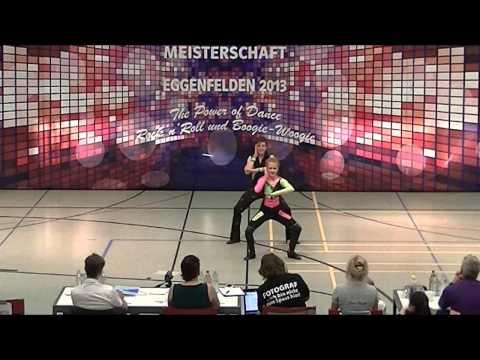 Madita Kudla & Leon Weber - Deutsche Meisterschaft 2013
