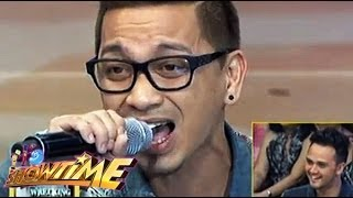 Jhong Hilario sings 'Halik' in Showtime