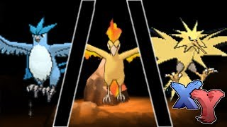 Legendary Articuno/Zapdos/Moltres Encounter (How To Catch