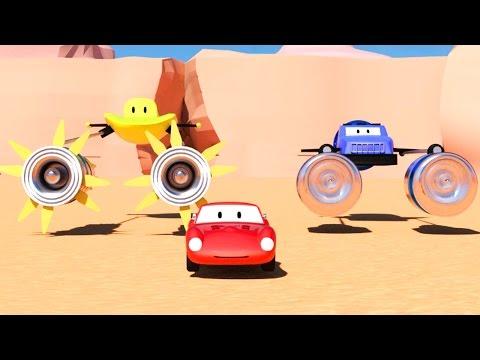 Závodné auto a Star Wars