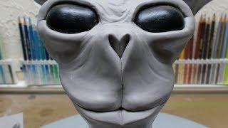 Random sculpting, part 5. The nose.