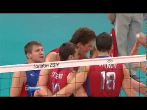 Лондон 2012.Волейбол.Россия-Бразилия.Финал.