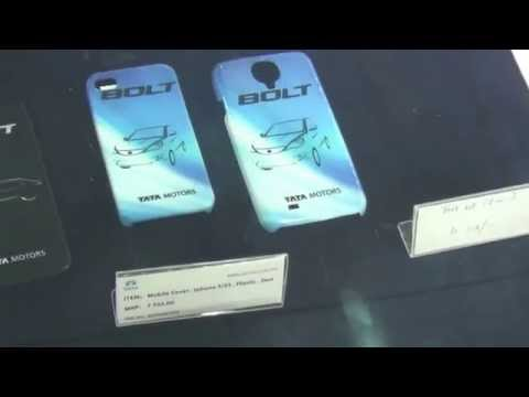 Tata Motors Accessories Merchandise at 12th Auto Expo 2014 The Motor Show Greater Noida