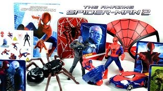 The Amazing Spider-Man 2 McDonald's 2014 Happy Meal Toys