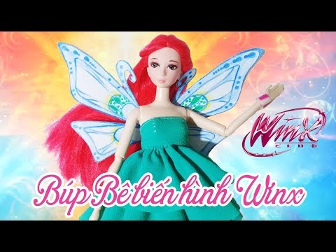 Búp Bê Biến Hình Tiên Nữ Winx - Winx Club Bloom Enchantix Doll Transformation