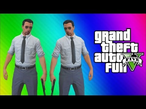 GTA 5 Online Funny Moments Gameplay - Haunted Mirror, Propane Tank, Rolling Glitch, Bumper Choppers